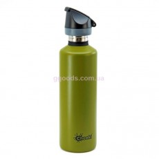 Спортивная бутылка 750 мл для воды хаки Cheeki