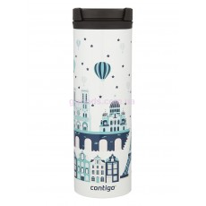 Термочашка Contigo TwistSeal Eclipse White Paris, 590 мл