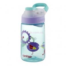 Детская бутылка для воды Contigo 415 мл Gizmo Sip Ultramarine Wind Up Bird Graphic