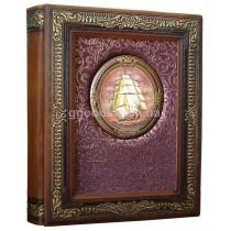 Фотоальбом кожаный Золотой век 3