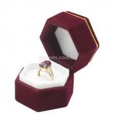 Коробочка для кольца Бордо элит