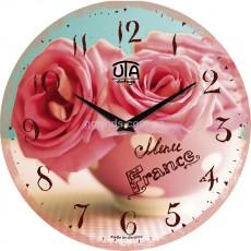 """Настенные часы """"Букет роз"""""""
