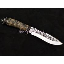 Охотничий нож Медведь