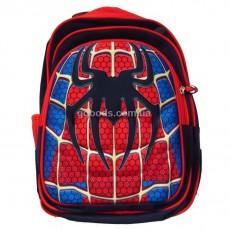 Рюкзак школьный Spiderman logo черный