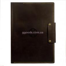 Папка для документов Звезда жизни коричневая