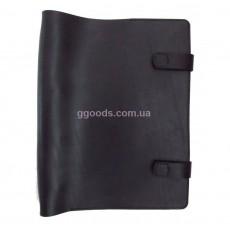 Папка-скоросшиватель для бумаг черная