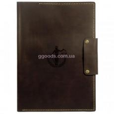 Папка для бумаг Фемида коричневая