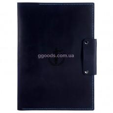 Папка для бумаг Фемида темно-синяя