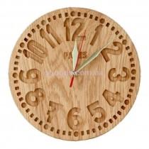 Часы настенные деревянные Париж