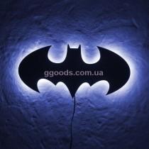 Настенная лампа Бэтмен синий свет