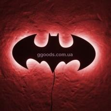 Настенный светильник Batman красный свет