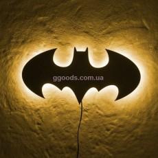 Настенный светильник Бэтмен желтый свет