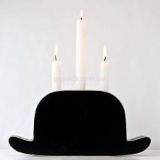 Подсвечник Шляпа Магритта 17х30 см