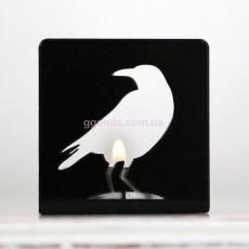 Подставка для свечи Ворон