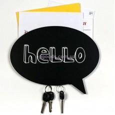 Ключница настенная магнитная Hello