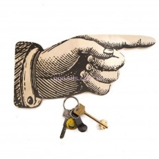 Ключница деревянная «Перст Указующий» с магнитами