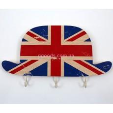 Ключница настенная деревянная Шляпа Великобритания