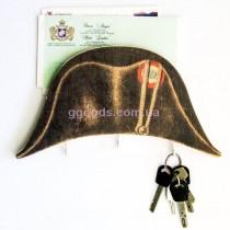 Ключница настенная Шляпа-двууголка Наполеона