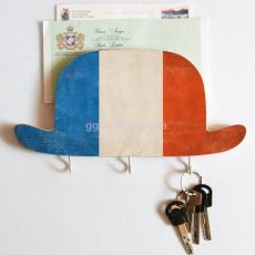 Ключница деревянная Шляпа Франция
