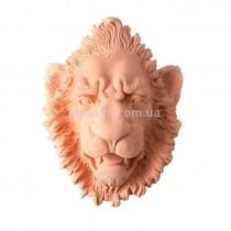 Настенный декор Лев терракота