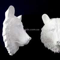 Настенный декор Медведь белый