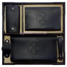 Набор кожаных аксессуаров Нефрит
