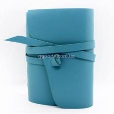 Блокнот голубой B6 чистые листы