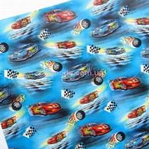 Бумага для упаковки подарков Машинки 10 м