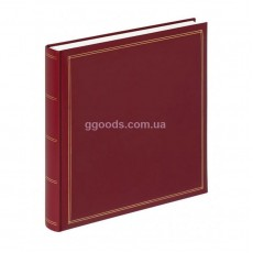 Фотоальбом Walther Monza FA-260 красный 60 страниц