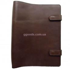 Папка-скоросшиватель для документов коричневая