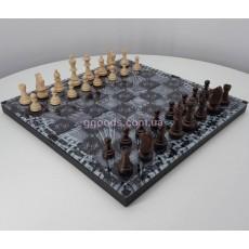 Шахматы из стекла именные