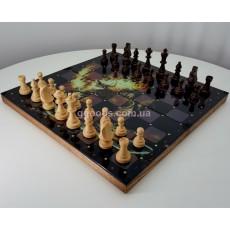 Шахматы стеклянные хай-тек