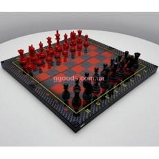 Эксклюзивные шахматы из стекла Ferrari