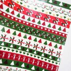Упаковочная бумага для подарков Новый год