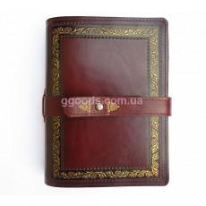Ежедневник со сменным блоком листов Президент коричневый