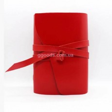 Блокнот красный B6 чистые листы
