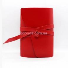 Блокнот красный B6 линованные листы
