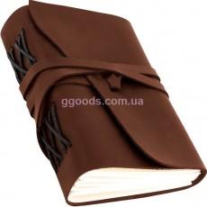 Блокнот коричневый А5 чистые листы