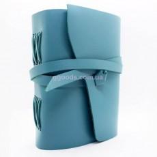 Блокнот голубой А5 чистые листы