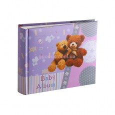 Фотоальбом Bear Violet Super New на 100 фото 10 на 15