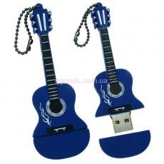 Флешка Гитара синяя 8 Гб, 16 Гб, 32 ГБ