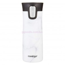 Термокружка Contigo Stainless Steel Coffee Couture White Marble, 420 мл