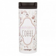 Термочашка Contigo TwistSeal Eclipse White But First Coffee