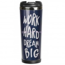 "Термочашка ""Work hard. Dream big"""