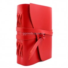 Блокнот красный А5 чистые листы