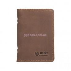 Обложка-органайзер для ID паспорта и карт оливка