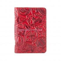 Обложка-органайзер для ID паспорта Let's Go Travel красная