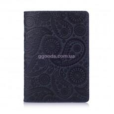 """Обложка для паспорта """"Buta Art"""" синяя"""