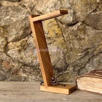 Настольная Led лампа из дерева