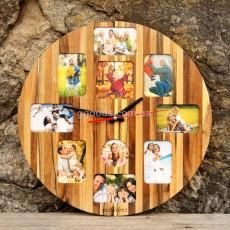 Настенные часы с фотографиями